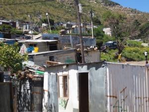 So wohnen wir hier in Imizamo Yethu
