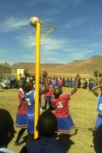Basketball- und Fußballturnier