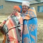 Welche besondere Kleidung tragen Basotho?
