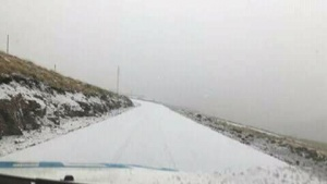 Nun ist wieder Winter in Lesotho