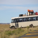 Unterwegs – zu Fuß, mit dem Esel, dem Pferd oder dem Minibus?