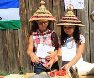 Die Kinder der Grundschule Falkenfeld kochen ...