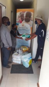 Mr Lekanyane ist auch ein Helfer des Weihnachtsmanns :-) ;-) ...